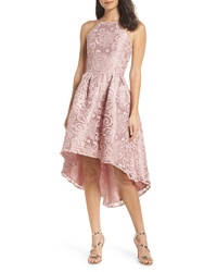 Chi Chi London Lace Dip Highlow Dress