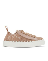 Chloé Pink Lauren Sneakers
