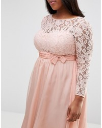 c8ea2808e99 ... Asos Curve Curve Wedding Midi Dress With Lace And Bow Detail ...