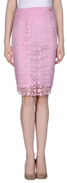 class roberto cavalli knee length skirts where to buy