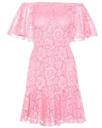 Valentino Lace Off The Shoulder Dress
