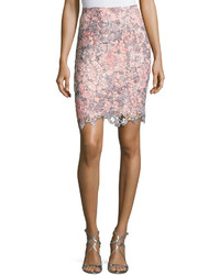Floral lace overlay skirt medium 3763814