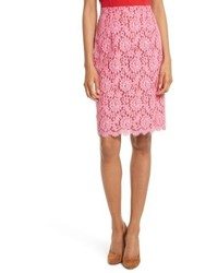 Lace pencil skirt medium 4950767