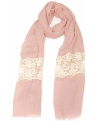Violet Del Mar French Lace Scarf