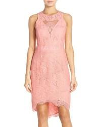 Adelyn r lace highlow sheath dress medium 639599