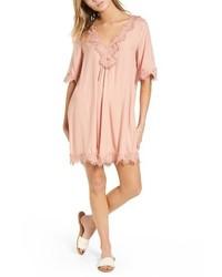 Lace trim shift dress medium 3992514
