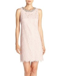 Petite embellished a line dress medium 639587