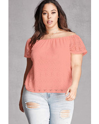 Plus size lace blouse medium 3722241