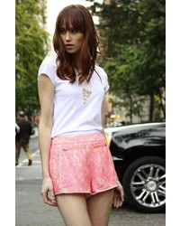 Lace hot shorts medium 236102
