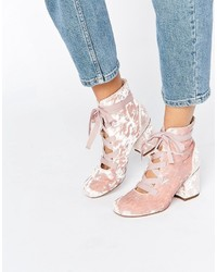 Asos Randa Lace Up Ankle Boots
