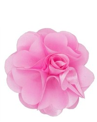 Dapper World Pink Rose Flower Lapel Pin