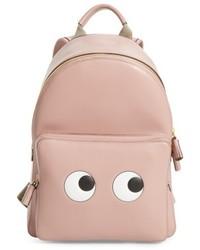 Eyes mini leather backpack pink medium 5254690