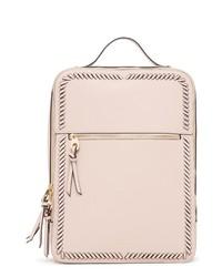 CALPAK Kaya Faux Leather 15 Inch Laptop Backpack