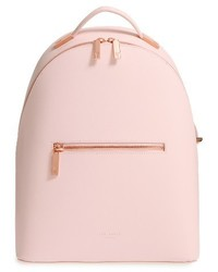 London mini jarvis leather backpack pink medium 3691987