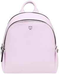 MCM Mini Leather Backpack