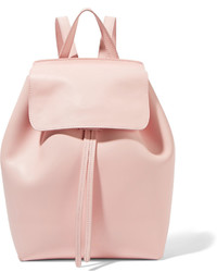 Mansur Gavriel Mini Leather Backpack Pastel Pink