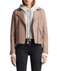 Dalby leather biker jacket medium 6987567