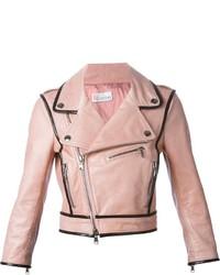 RED Valentino Cropped Biker Jacket