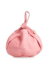 Clare V. Chou Chou Leather Bucket Bag