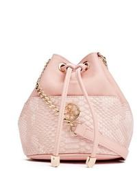 GUESS Exotic Mini Bucket Bag