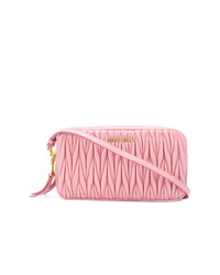 Miu Miu Creased Effect Clutch