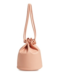 Mansur Gavriel Lambskin Leather Drawstring Pouch