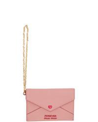 Miu Miu Pink Love Envelope Pouch