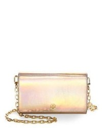 Tory Burch Robinson Leather Clutches