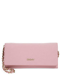 DKNY Saffiano Leather Convertible Clutch