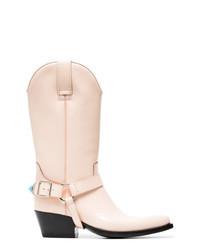 Calvin Klein 205W39nyc Powder Tex Tammy 50 Leather Boots