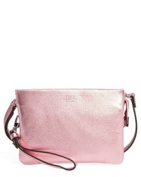Vince Camuto Cami Leather Crossbody Bag Pink