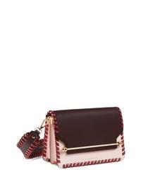 STRATHBERRY Eastwest Stitch Leather Crossbody Bag