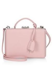 MARK CROSS Grace Box Small Leather Crossbody Bag