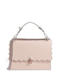 Kan i scallop leather shoulder bag medium 8828168