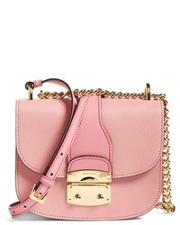 Miu Miu Madras Leather Crossbody Bag Ivory