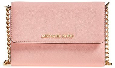 5ce74c11cf6a ... MICHAEL Michael Kors Michl Michl Kors Jet Set Large Phone Saffiano  Leather Crossbody Bag ...