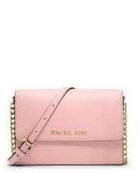a998729ff7 MICHAEL Michael Kors Michl Michl Kors Large Saffiano Leather Phone Crossbody  Bag