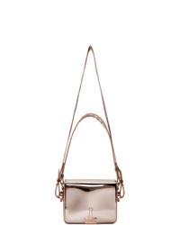 Off-White Pink Mirror Flap Bag