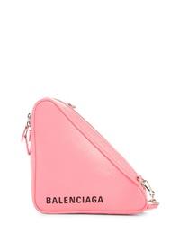 Balenciaga Triangle Calfskin Crossbody Bag