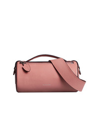 Burberry The Leather Barrel Bag