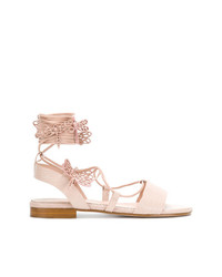 RED Valentino Dragonfly Rope Sandals