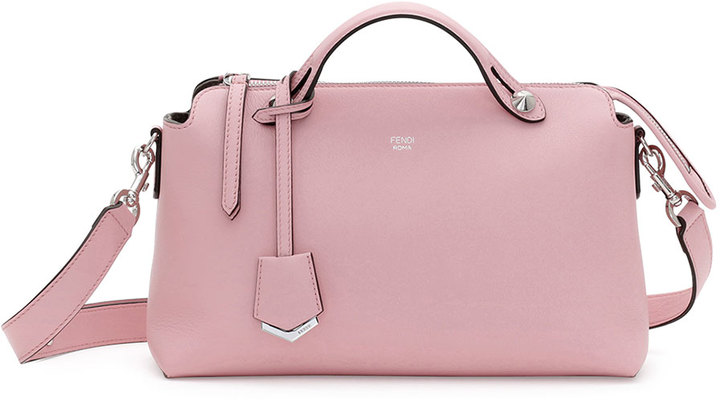Fendi By The Way Small Leather Satchel Bag Pink | Where to buy ...