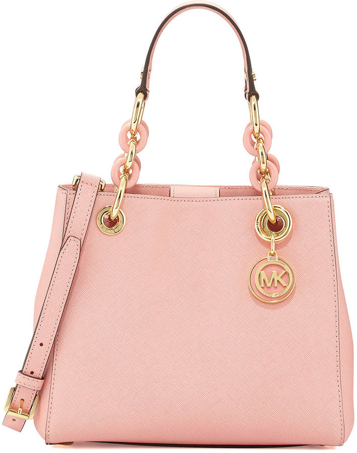 3193a416c5bb25 Michael Kors Pink Leather Handbags - Best Handbag In 2018