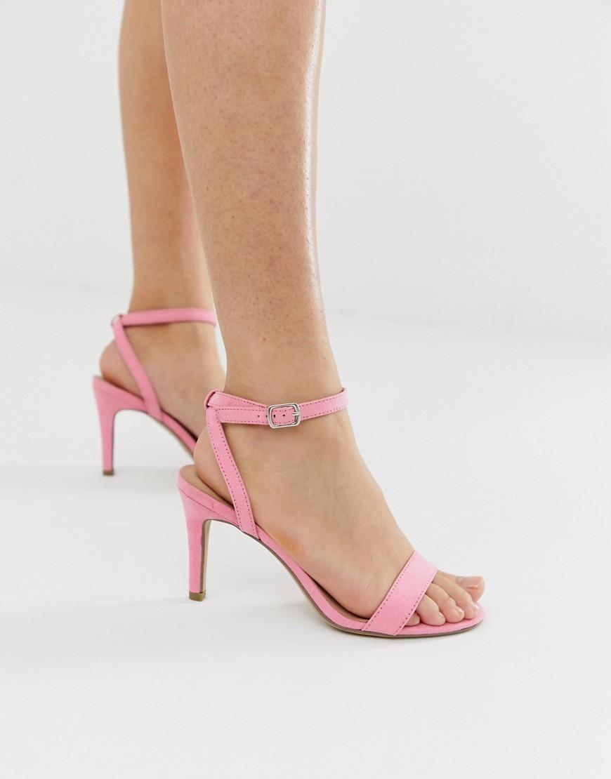 New Look Kitten Heel In Light Pink, $21