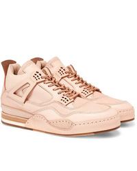 Hender Scheme Mip 10 Nubuck Trimmed Leather Sneakers