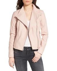 Felicia asymmetrical zip leather jacket medium 3753429