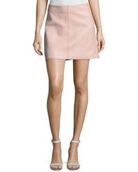 Jenny lamb leather mini skirt medium 5255222