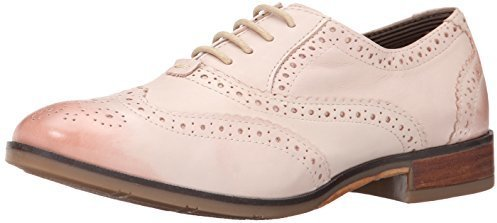 Ellodie Ellis Oxford. Pink Leather Oxford Shoes by Hush Puppies