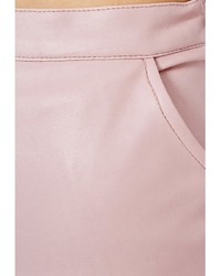 Missguided Mariota Faux Leather Pencil Skirt In Dusky Pink | Where ...