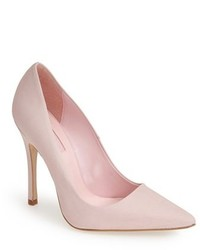Topshop Gallop Pointy Toe Leather Pump